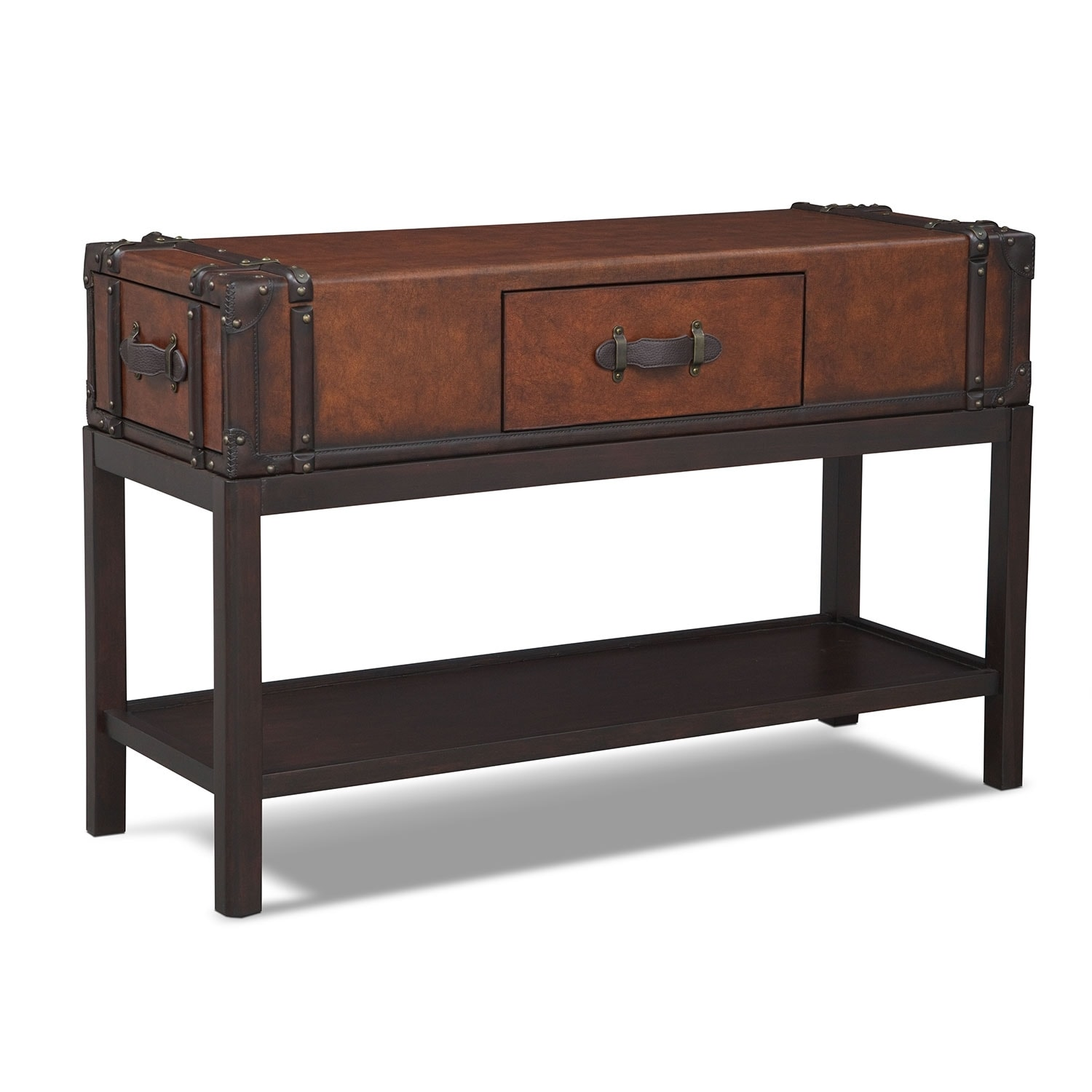 Expedition Sofa Table - Brown