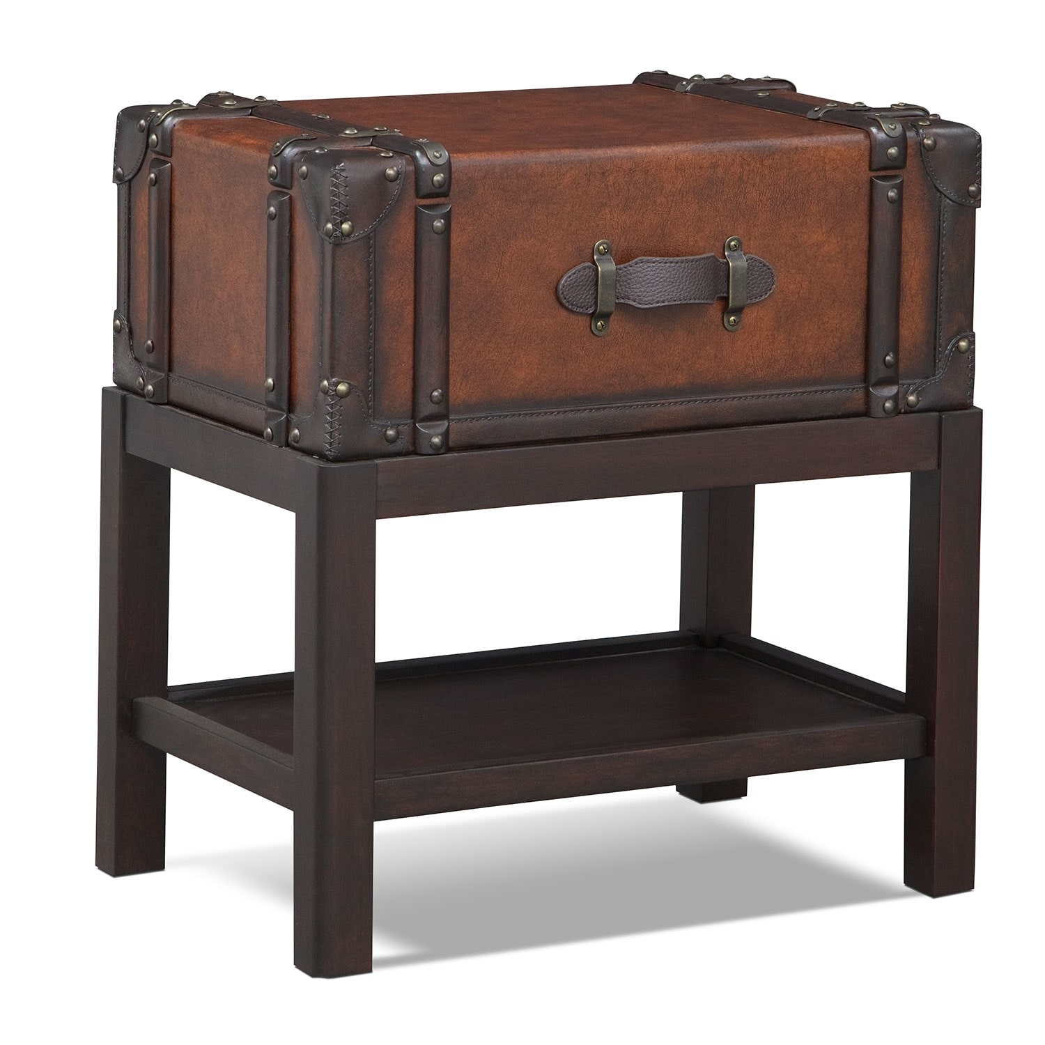 Accent and Occasional Furniture - Expedition Chairside Table