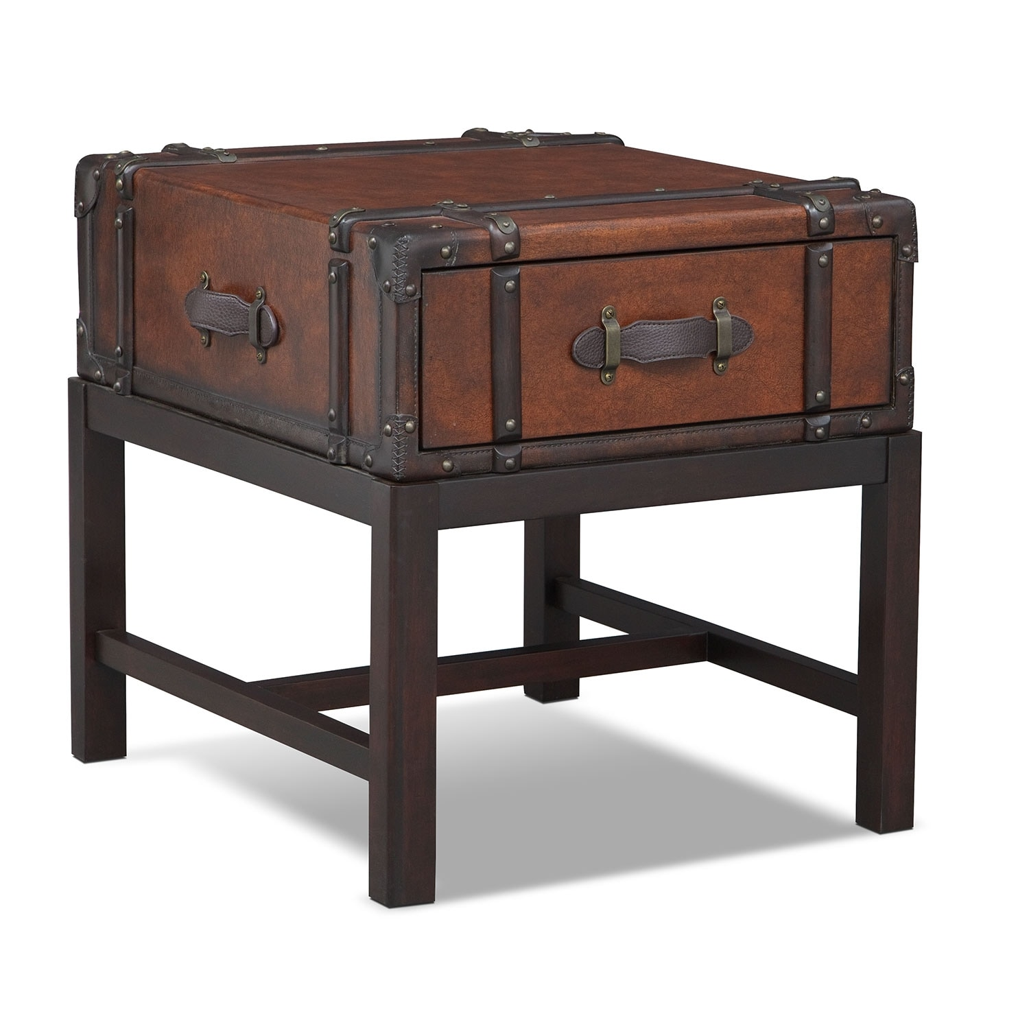 Accent and Occasional Furniture - Expedition End Table - Brown