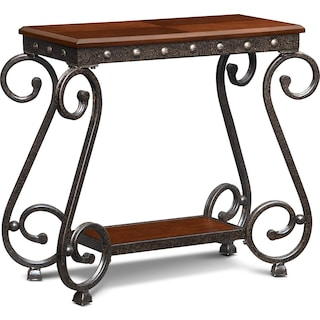 Calistoga Chairside Table - Cherry