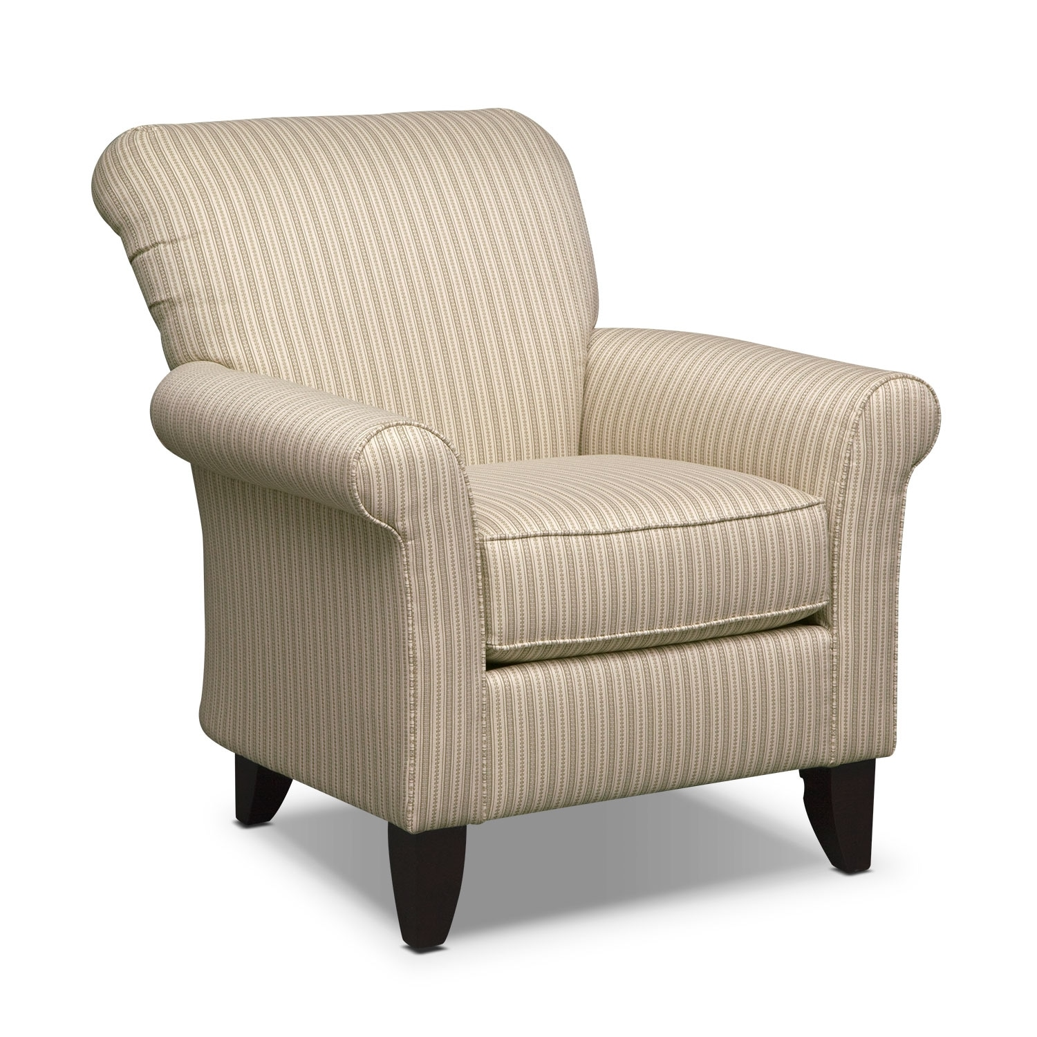 Colette Accent Chair - Khaki