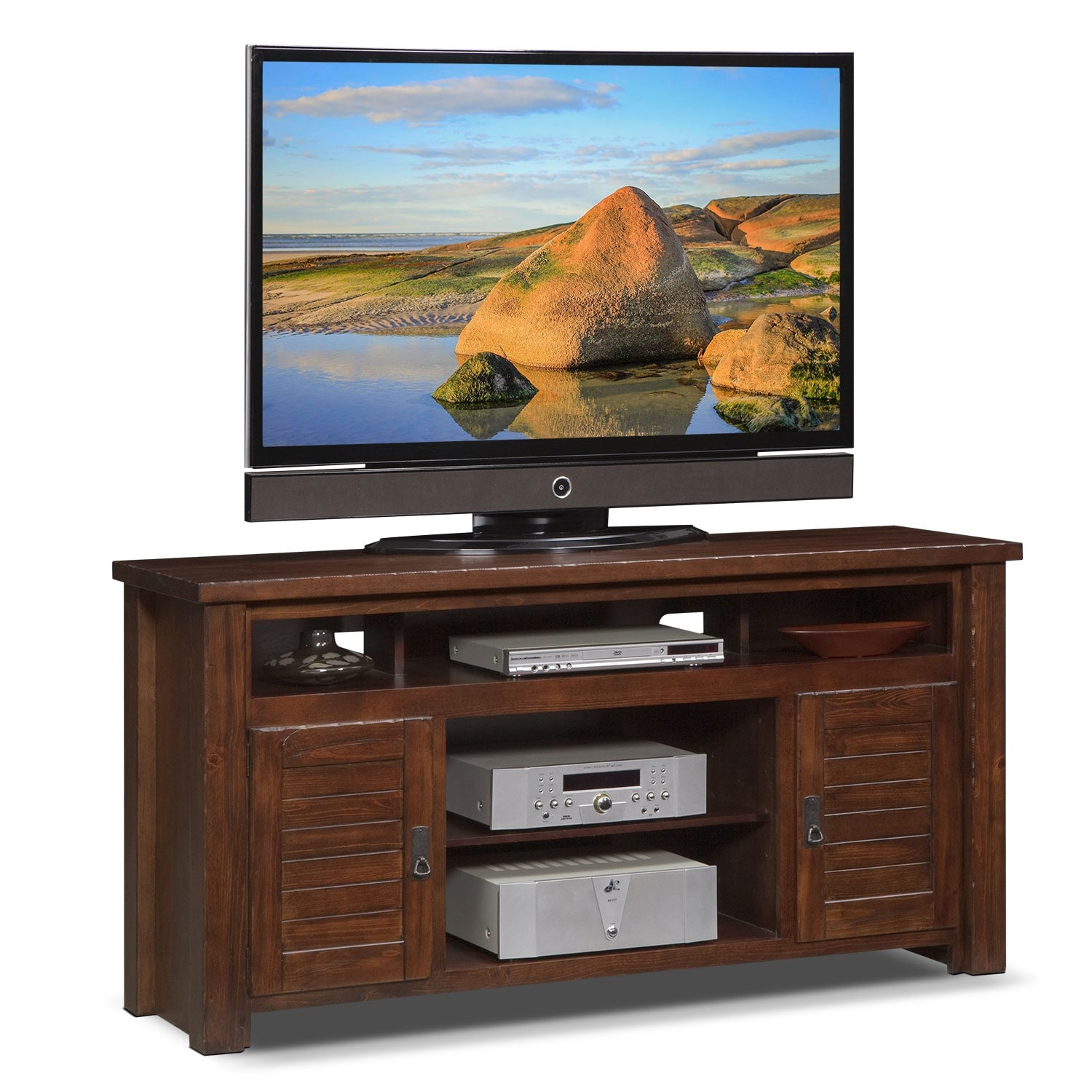 "Entertainment Furniture - Prairie 64"" TV Stand"
