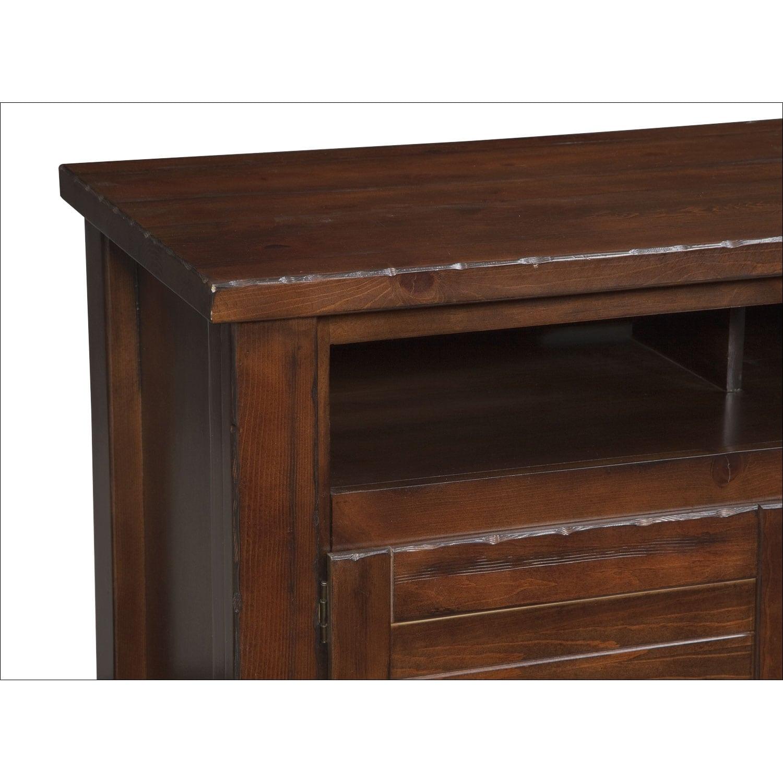 contemporary insert mesquite pine american signature furniture