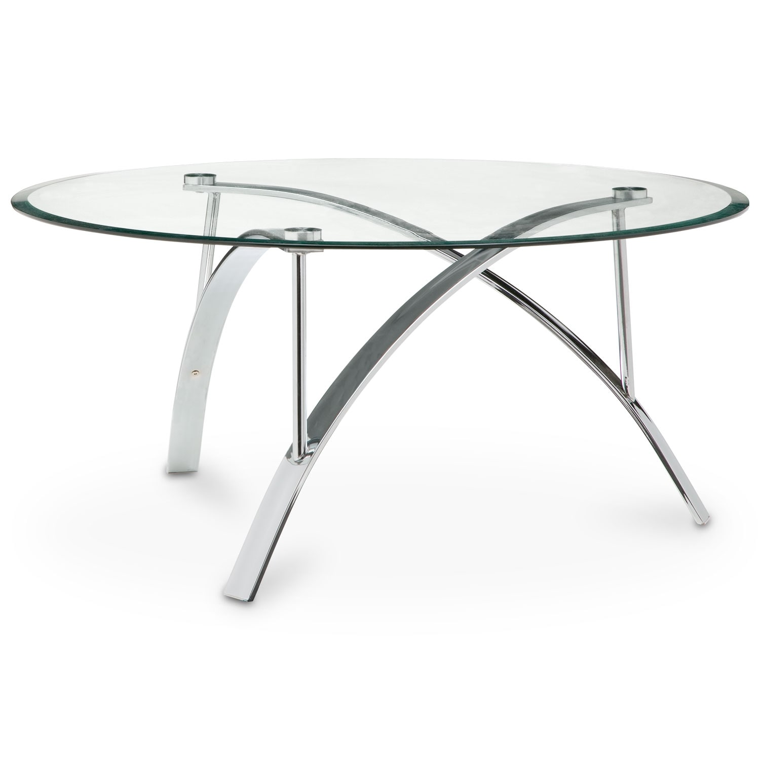 Accent And Occasional Furniture Mako Tail Table Silver