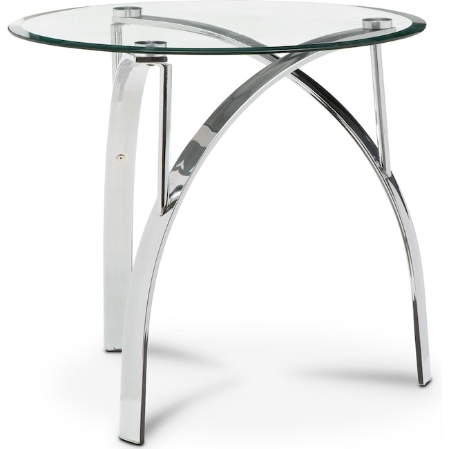 Accent and Occasional Furniture - Mako End Table - Silver