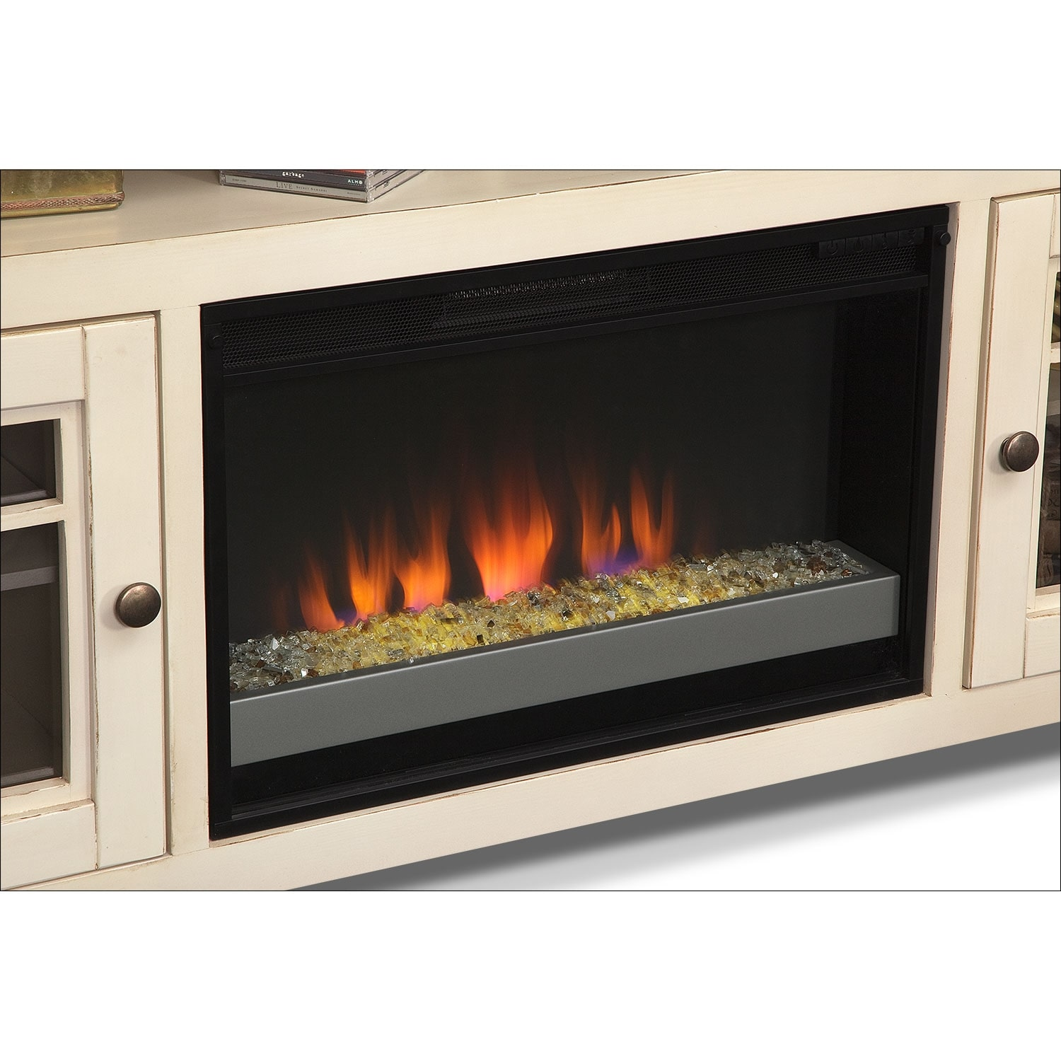 fireplace uncategorized ideas tv and stunning imgid stand style combo white of image electric