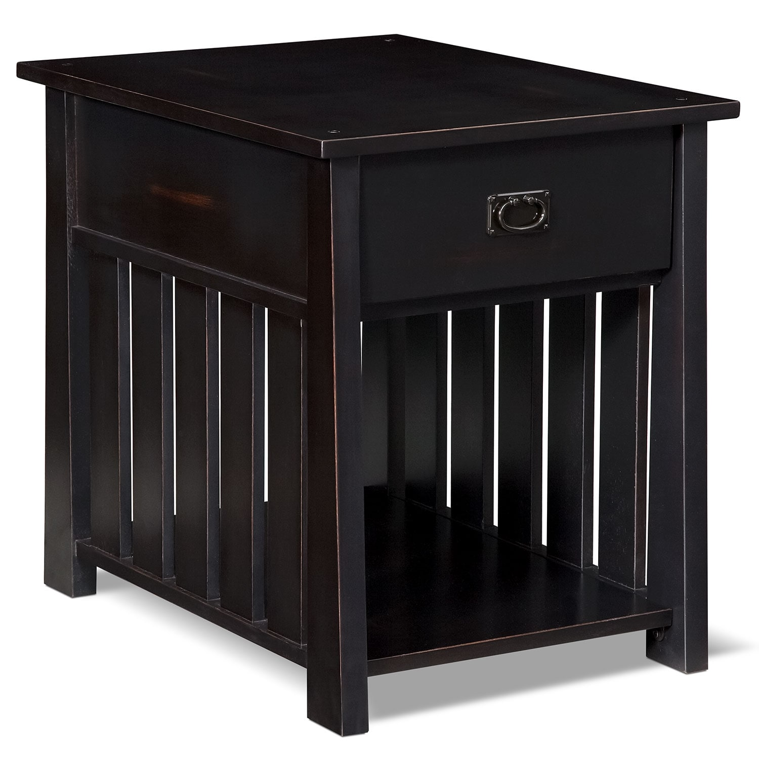 Tribute End Table - Black