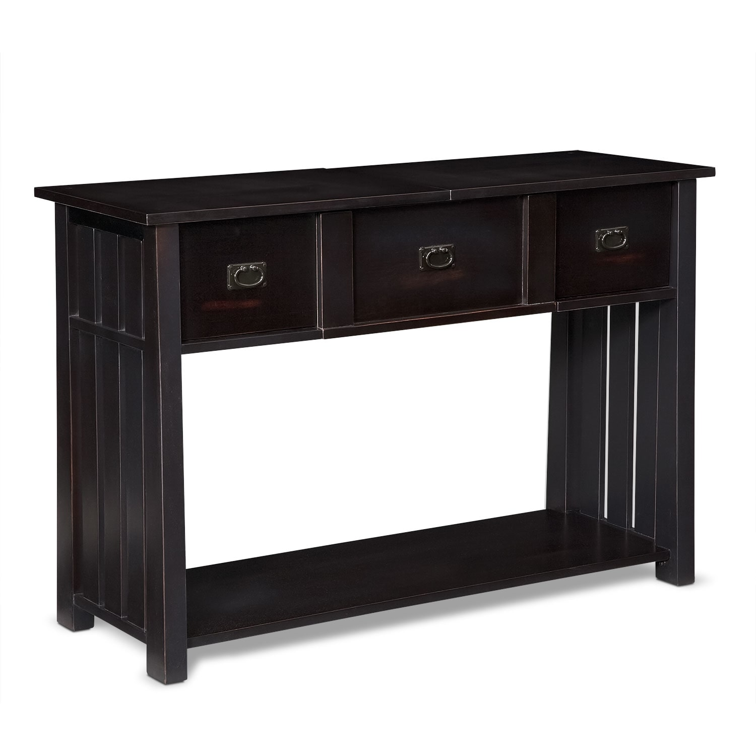 Tribute Sofa Table - Black