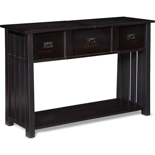 Accent and Occasional Furniture - Tribute Sofa Table - Black