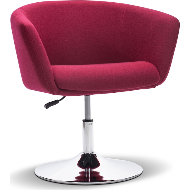 Living Room Furniture - Marseille Accent Chair - Red