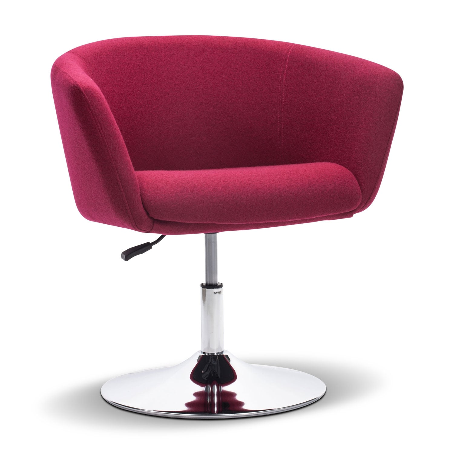 Living Room Furniture   Marseille Swivel Chair   Red