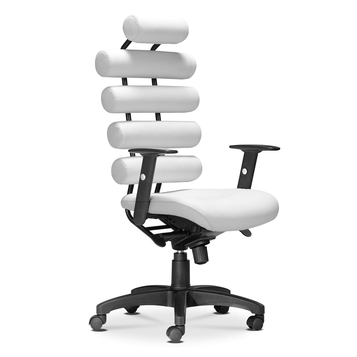 Home Office Furniture - Norton Office Arm Chair - White