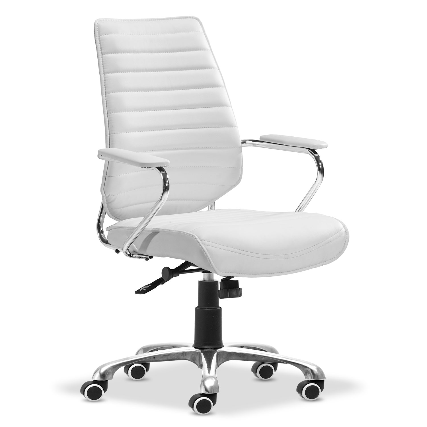 Home Office Furniture - Graham Office Arm Chair - White