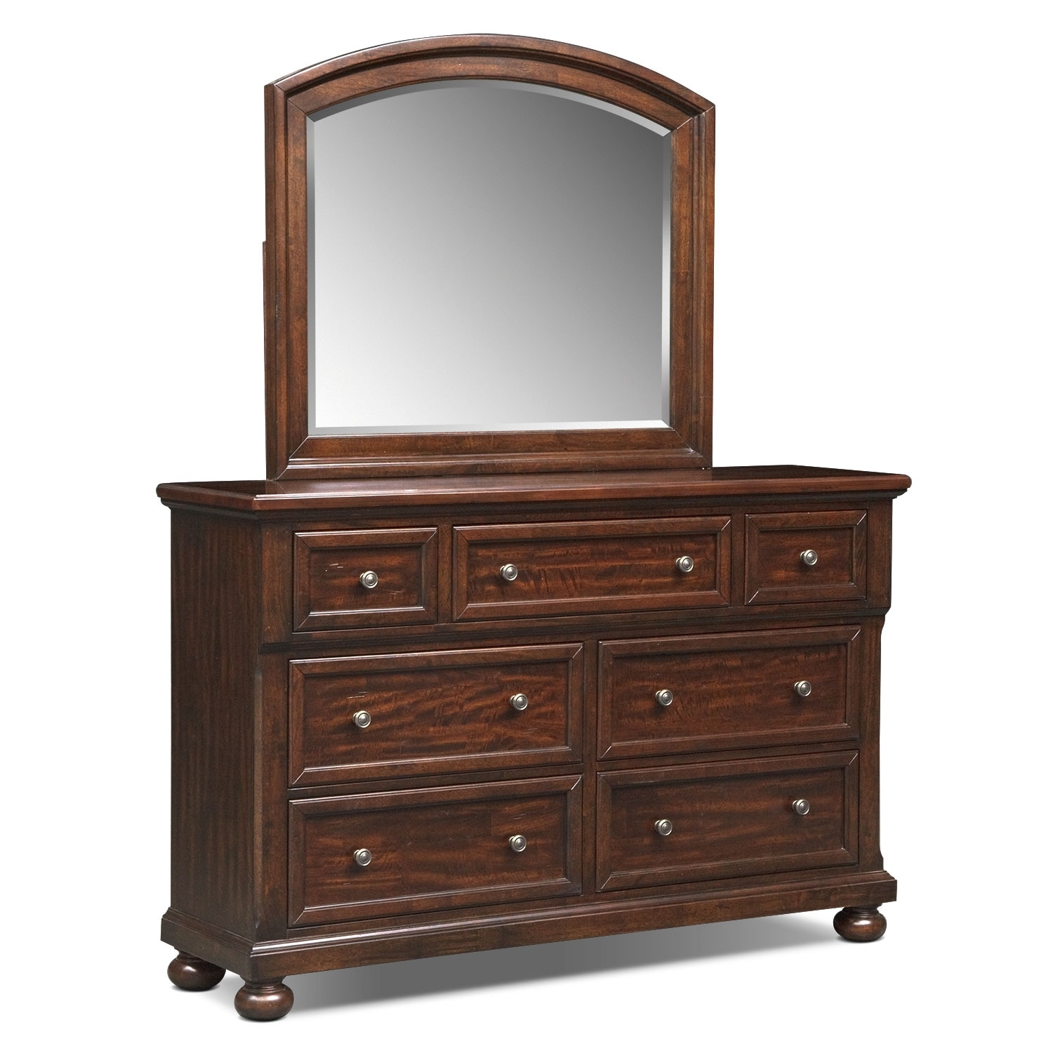Bedroom Furniture - Hanover Panel Dresser & Mirror