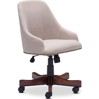Saddle Office Arm Chair - Beige