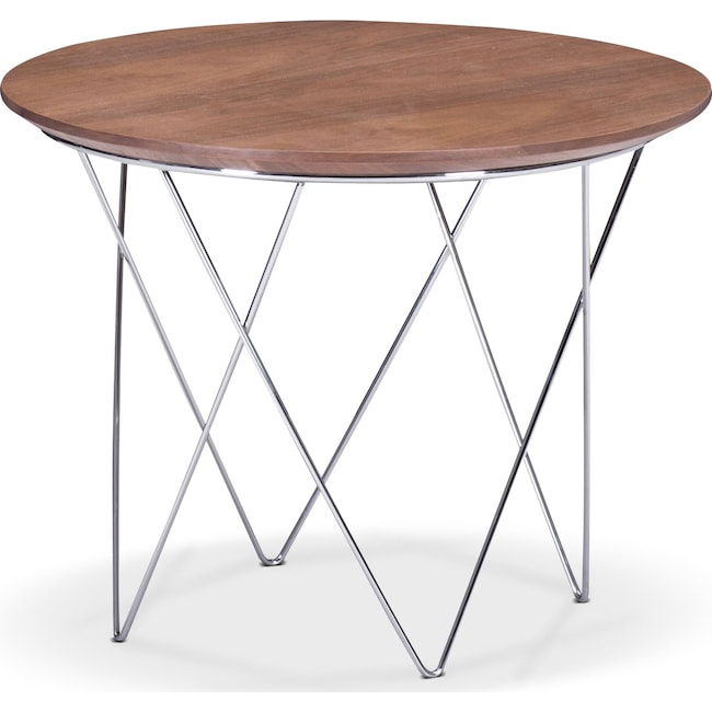 Accent and Occasional Furniture - Rowan Accent Table - Walnut