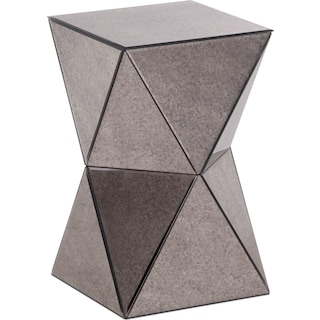 Geometrics Accent Table