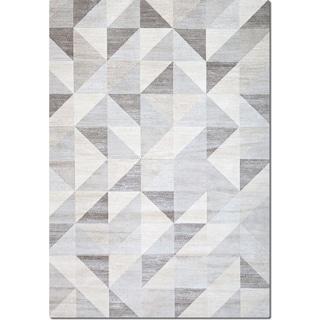 Sonoma 8' x 10' Area Rug - Gray Triangles
