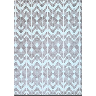 Sonoma Gray Diamonds Area Rug (8' x 10')