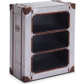 Flight Bookshelf - Aluminum