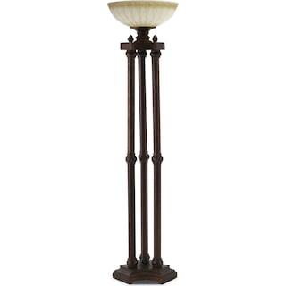 Regal Antique Floor Lamp