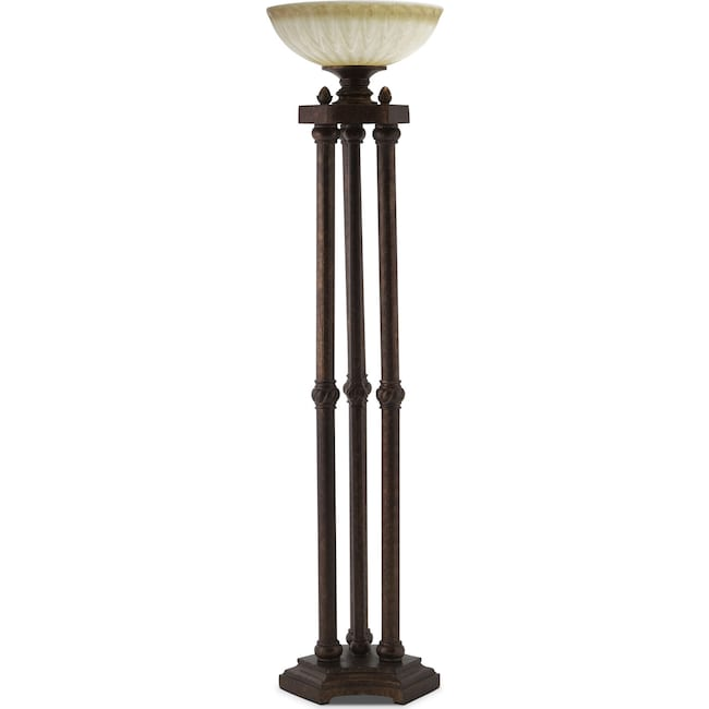 Home Accessories - Regal Antique Floor Lamp