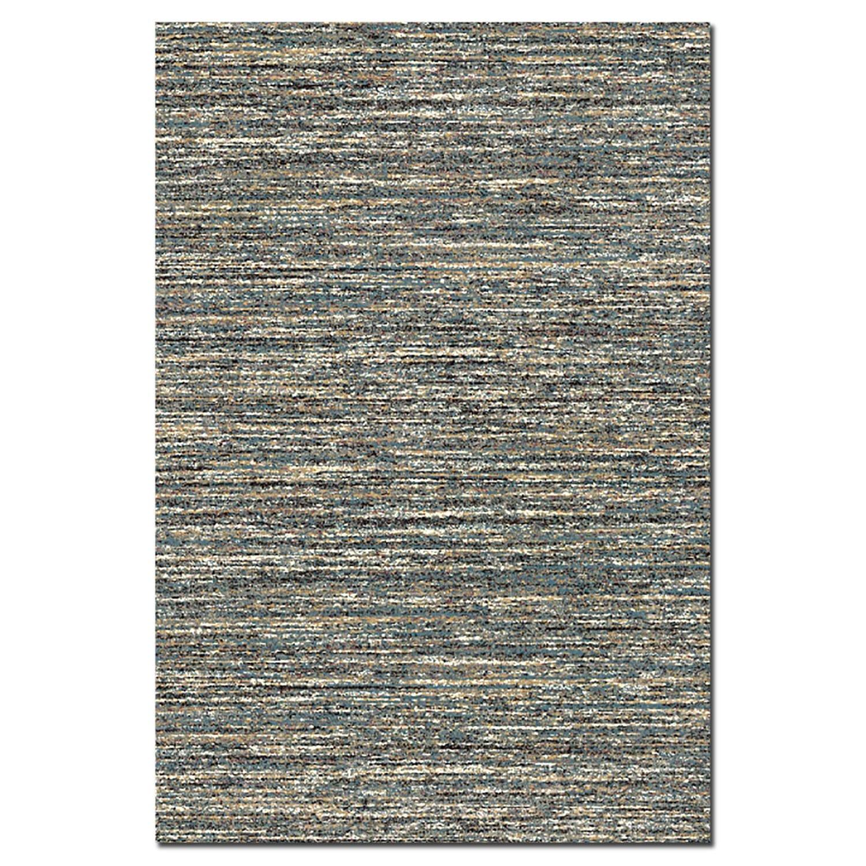 Rugs - Granada Blue Area Rug (5' x 8')