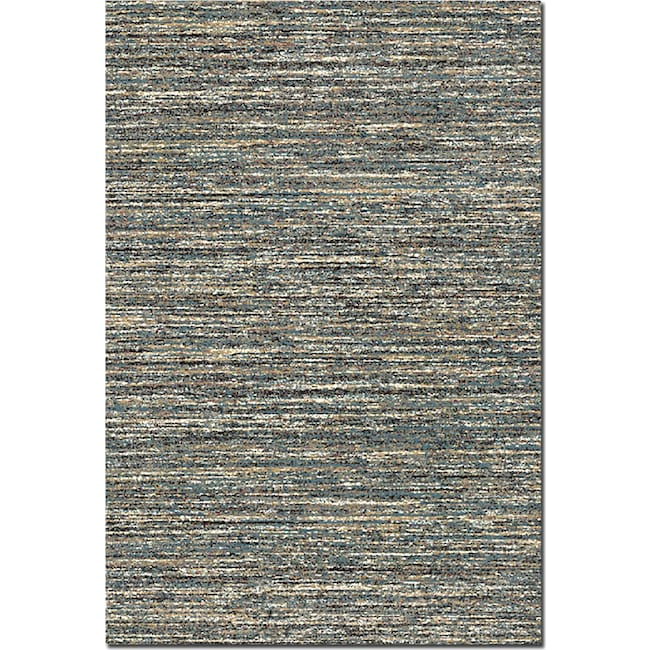 Rugs - Granada Blue Area Rug (8' x 10')