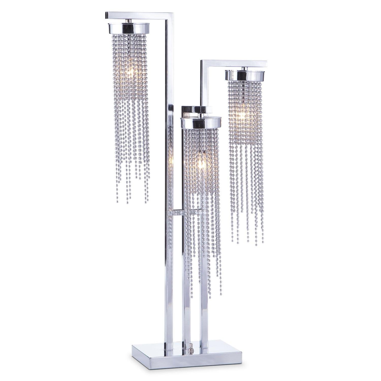Hanging beads table lamp american signature furniture home accessories hanging beads table lamp aloadofball Images