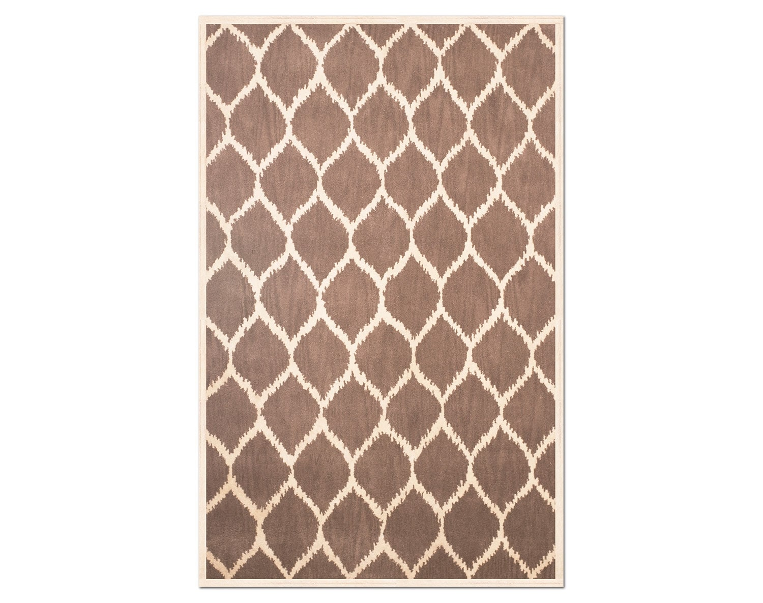 The Lifestyle Kimble Collection - Brown and Cream