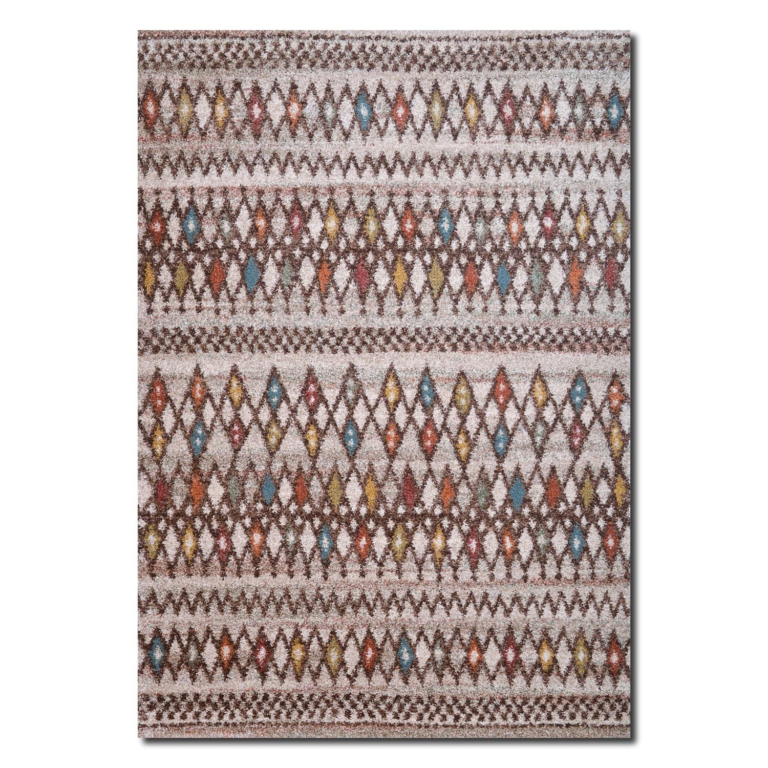 Granada Multi Triangles Area Rug (8' x 10')