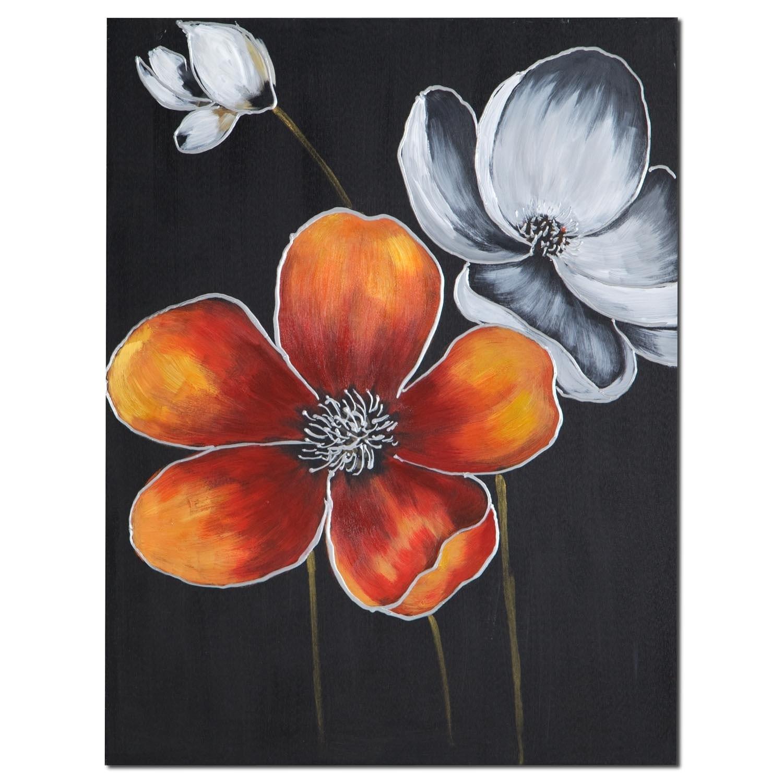 Home Accessories - Orange Field Canvas Print