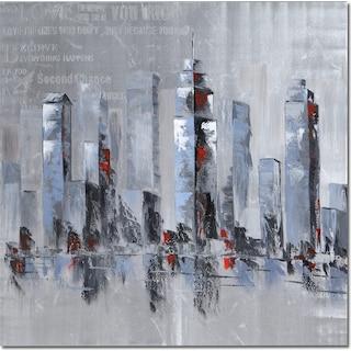 Silver City Canvas Print