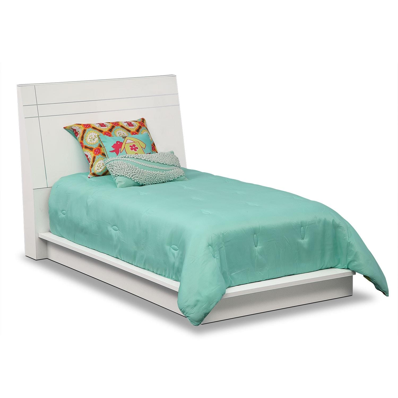 Bedroom Furniture - Dimora White II Twin Bed