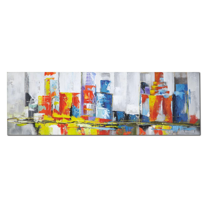 Home Accessories - Cityscape Canvas Print