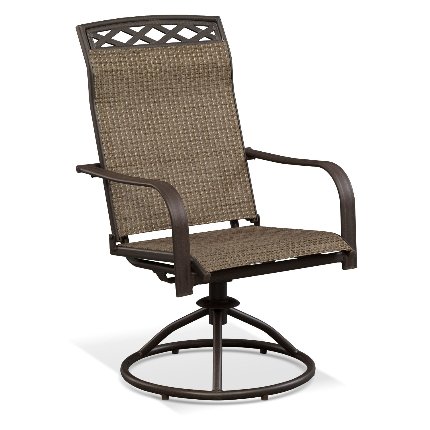 Terrace Swivel Rocker