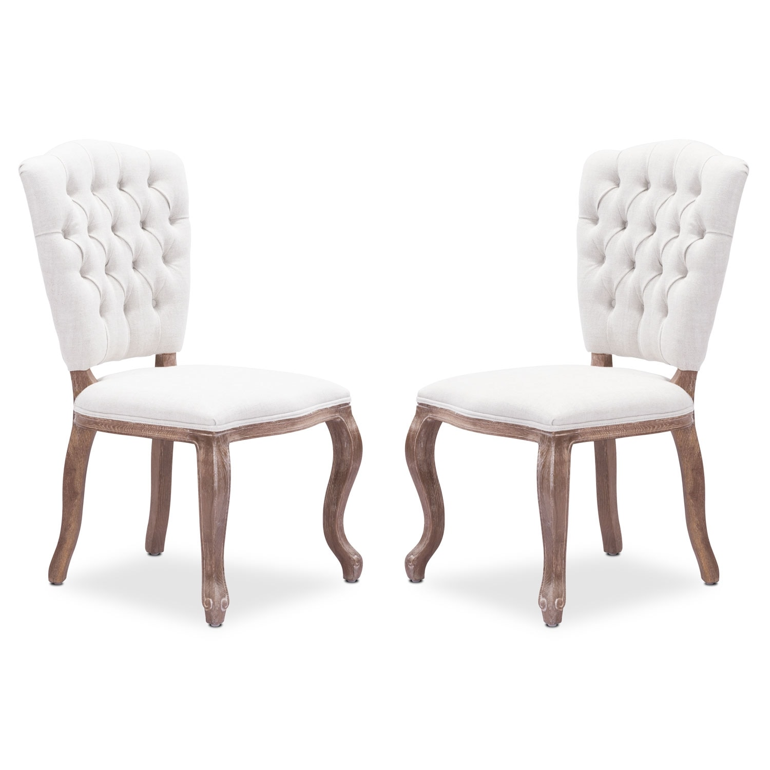 Accent and Occasional Furniture - Trinity 2-Pack Chairs