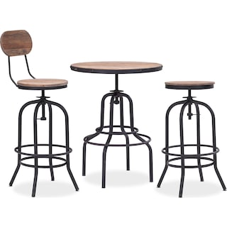 The Elston Collection - Antiqued Black