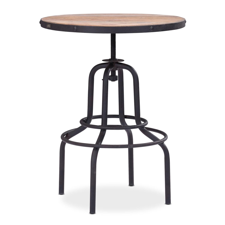 Dining Room Furniture - Elston Adjustable Table - Antiqued Black