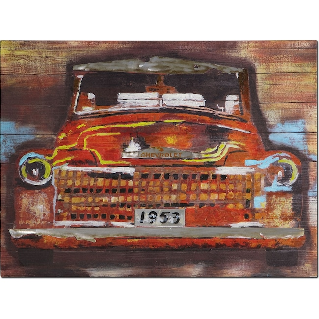 Home Accessories - Youth Car Canvas Print