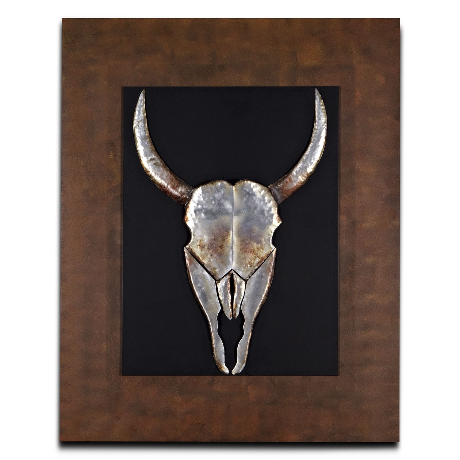 Home Accessories - Animal Skull Mixed Media Painting