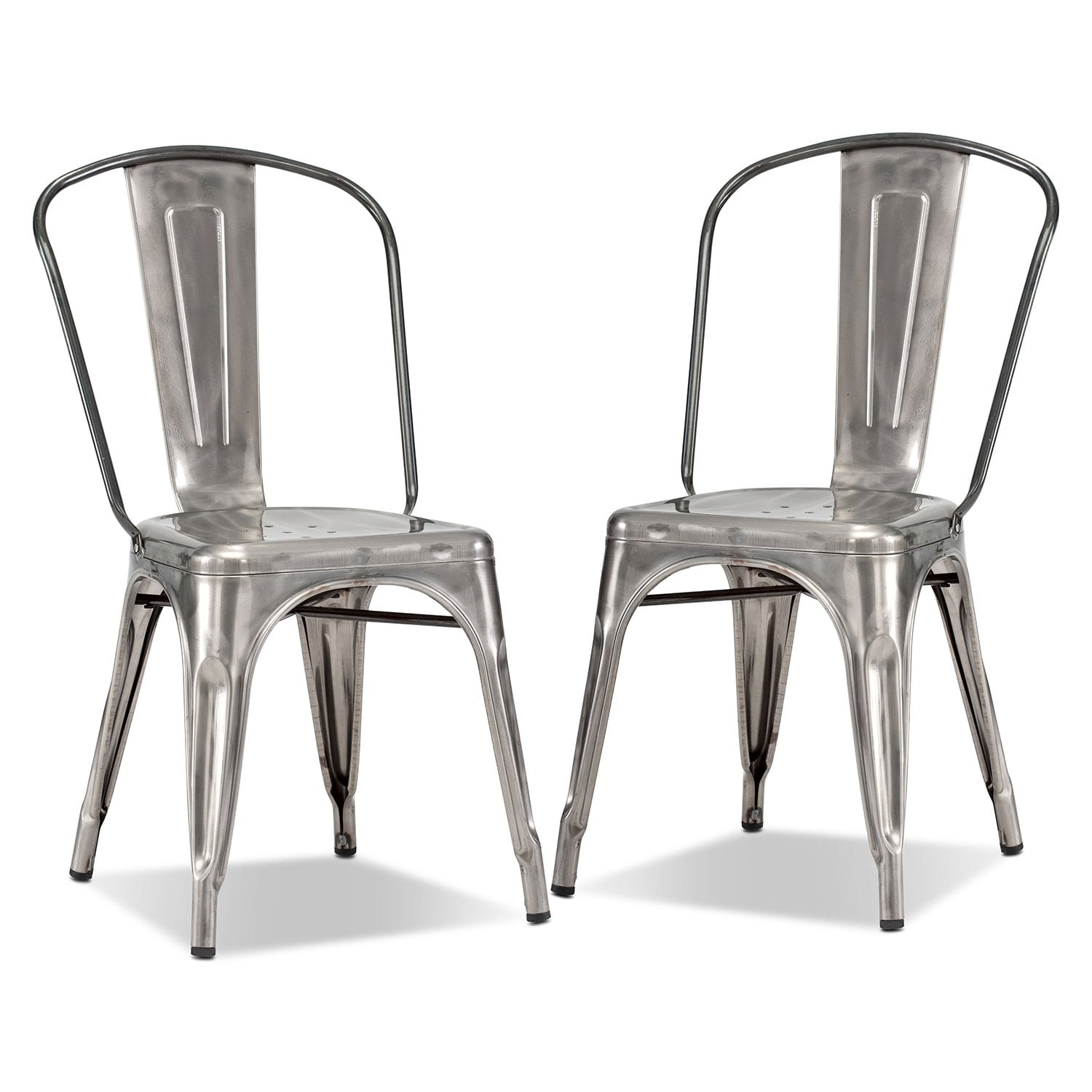 Dining Room Furniture - Squadron 2-Pack Side Chairs
