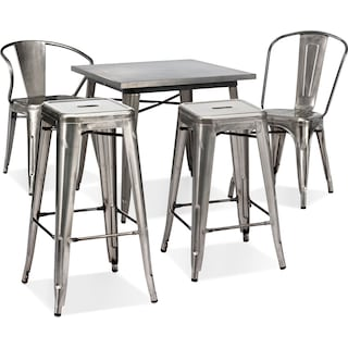The Squadron Collection - Polished Steel