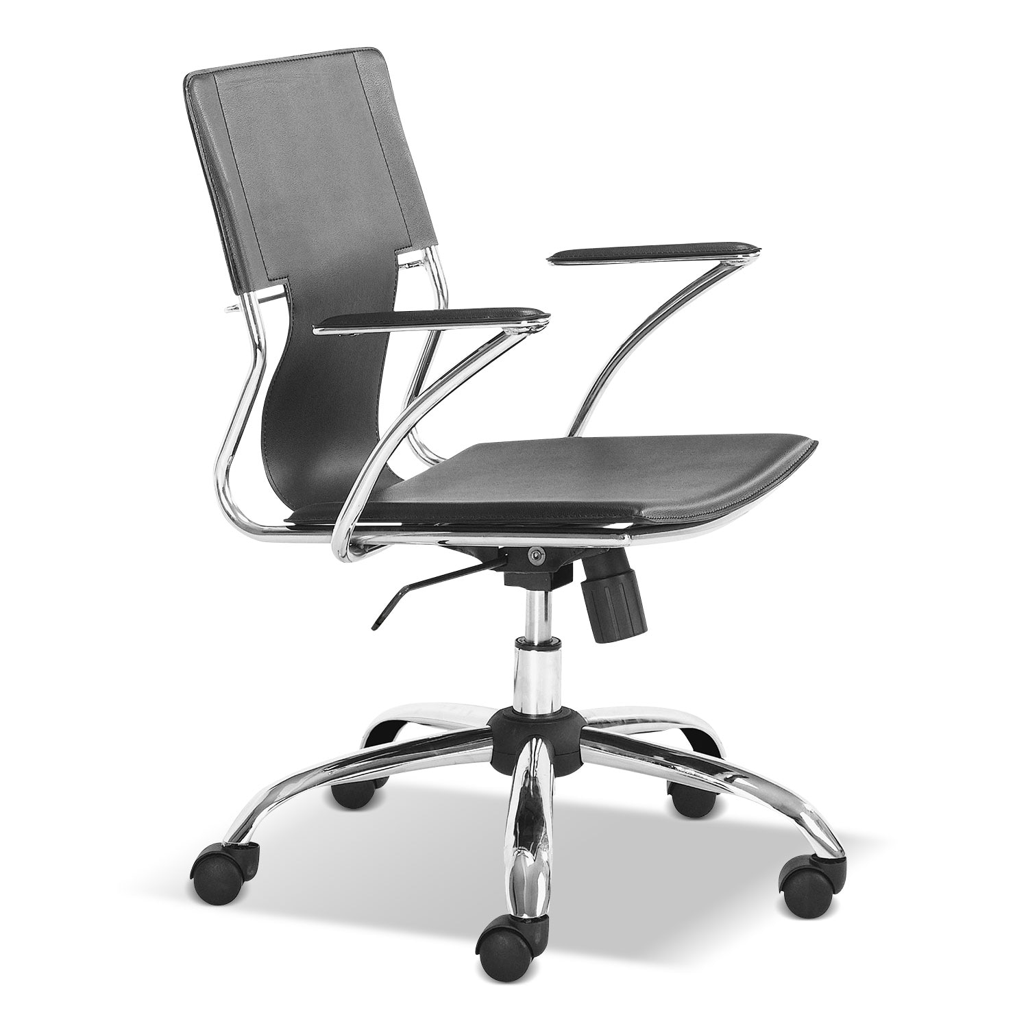 Crowley Office Arm Chair - Black