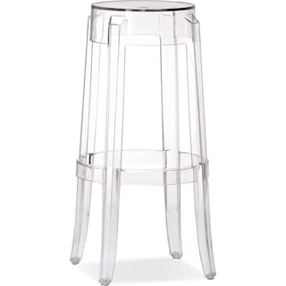 Lucid Bar Stool - Clear