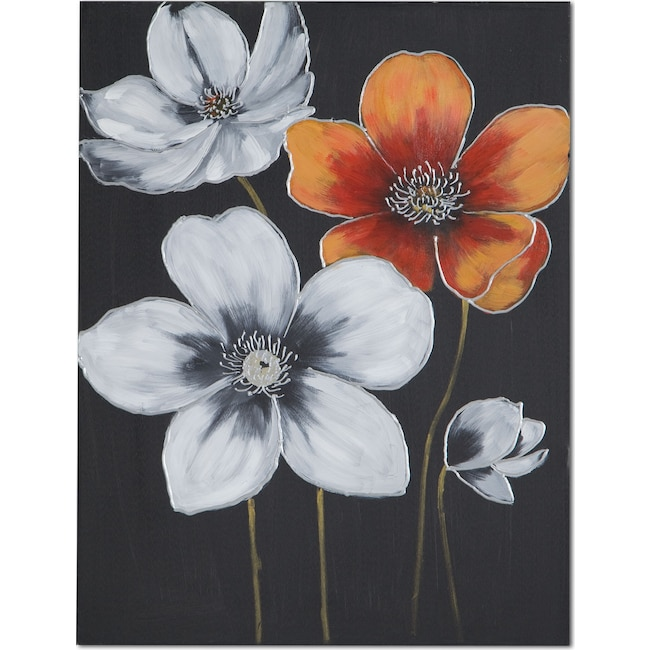 Home Accessories - Orange Field II Canvas Print