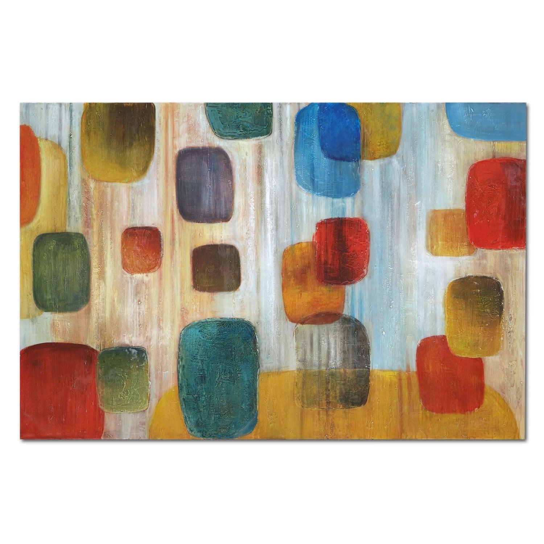 Home Accessories - Square Rain Canvas Print