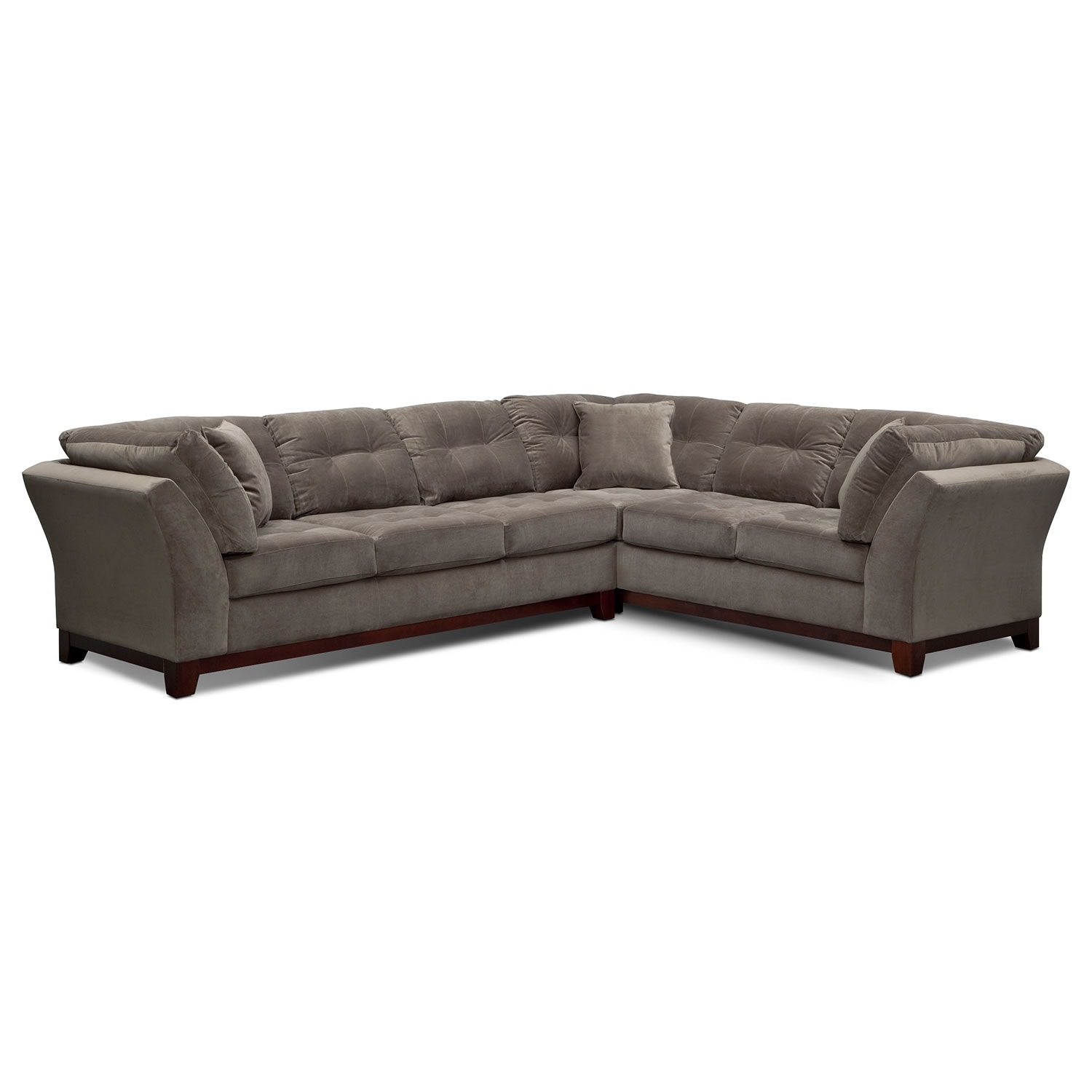 Sebring 2-Piece Sectional with Left-Facing Sofa - Gray