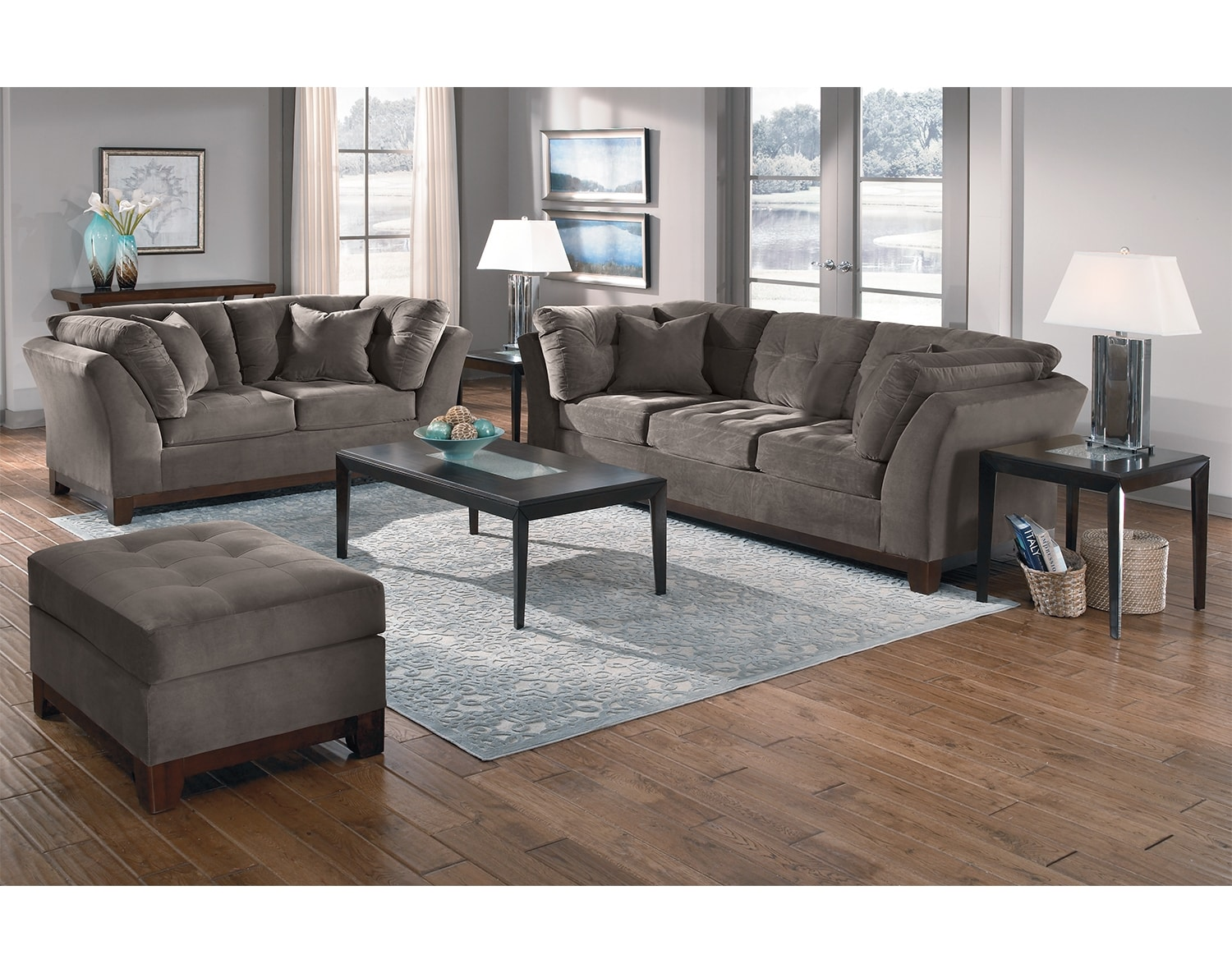 Living room collections american signature furniture for Signature furniture