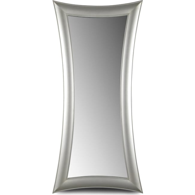 Accent and Occasional Furniture - Abigail Mirror - Silver